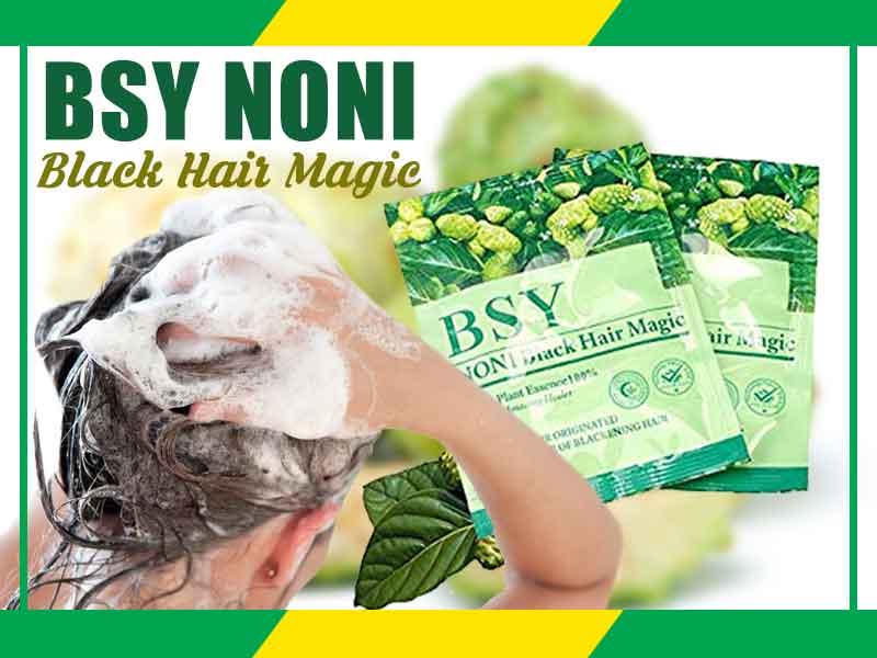 Cara Pakai Bsy Noni Black Hair Magic