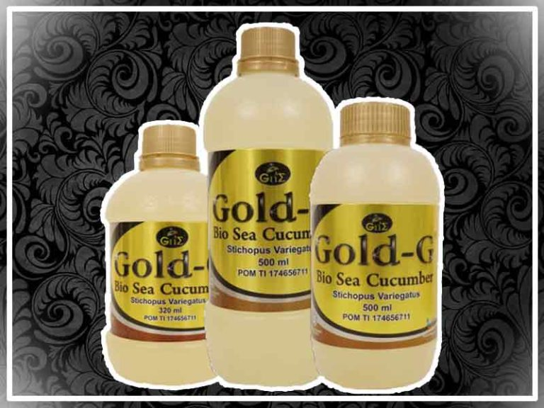 Jelly Gamat Gold G Asli